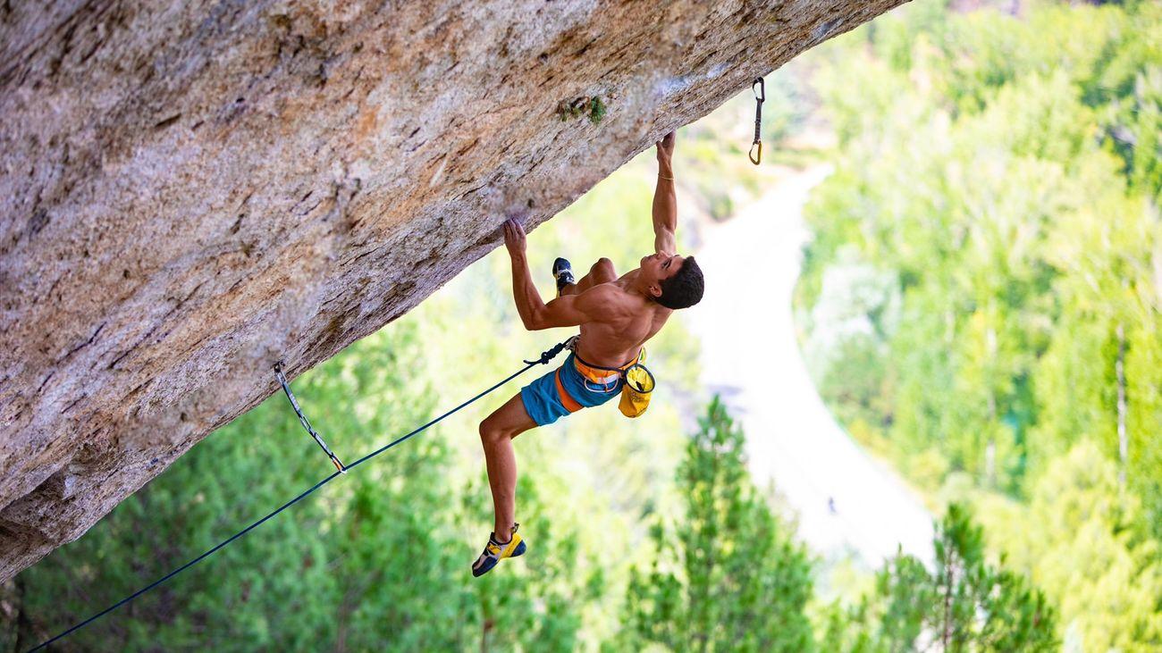 Alberto Ginés, el escalador olímpico de 17 años