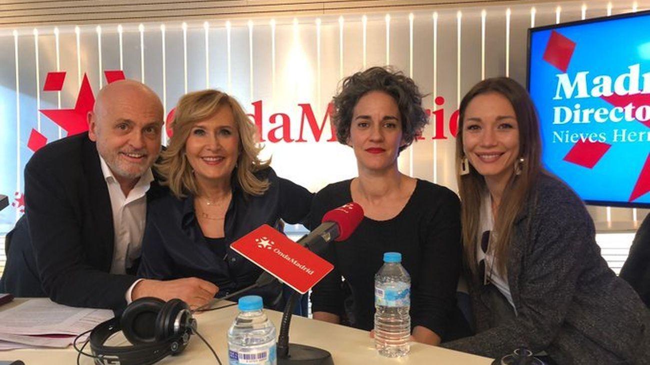 Entrevista a las actrices Elena Lombao y  Sara Gómez