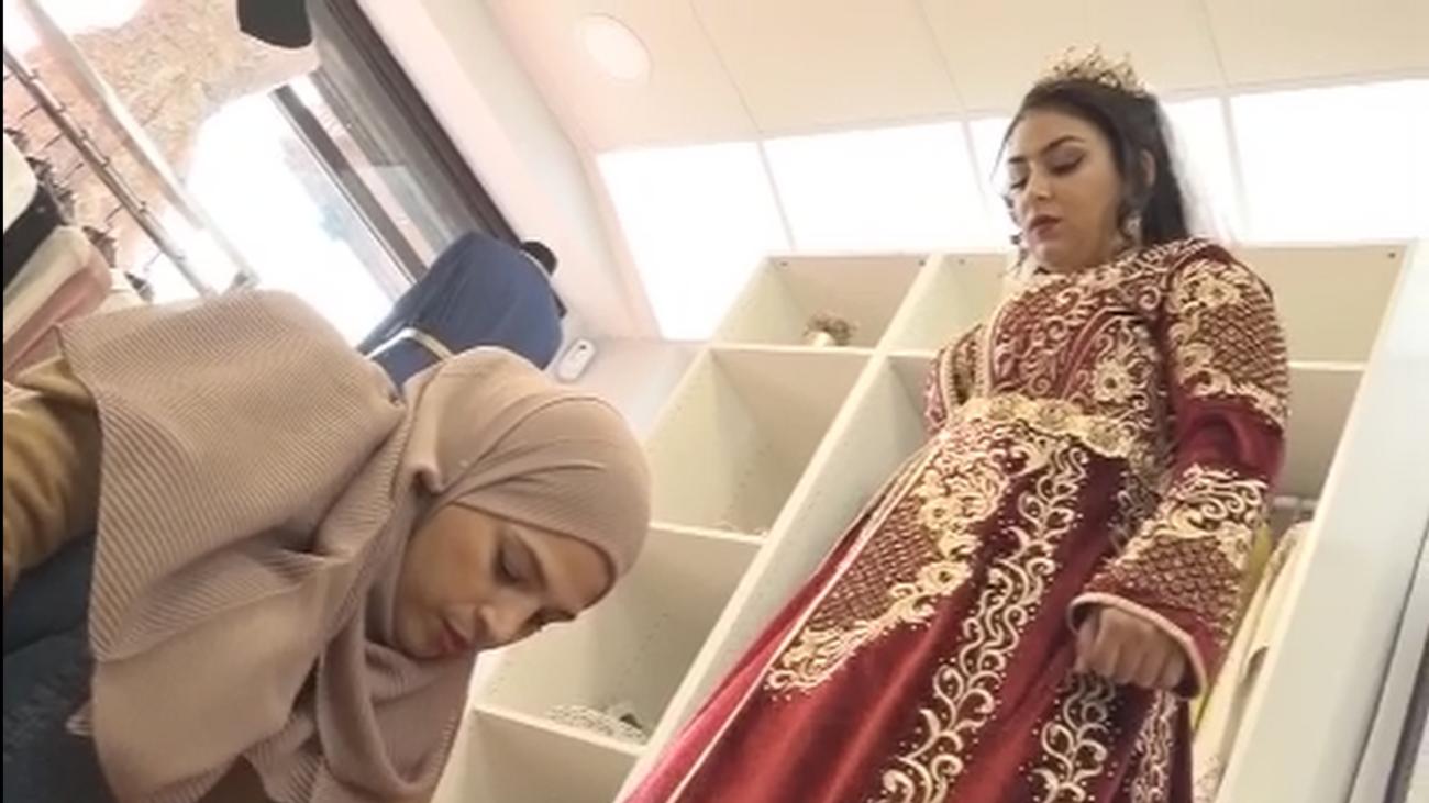 Así se preparan las novias marroquíes en Fuenlabrada para casarse