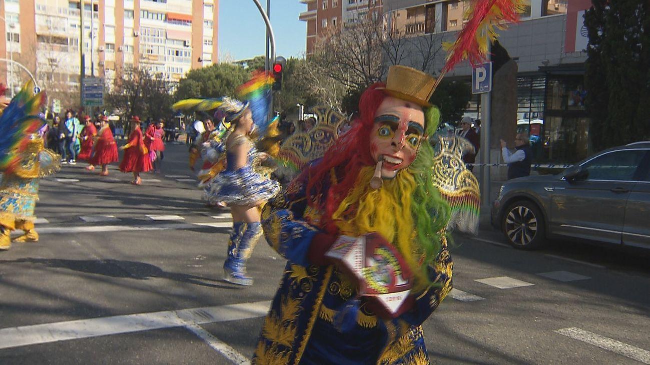 Carnaval en las calles de Madrid