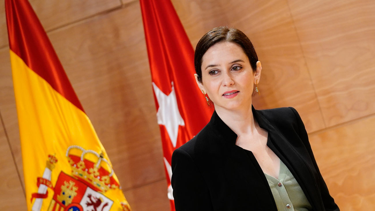 "Ayuso acusa al Gobierno de Sánchez de querer ""intervenir"" Madrid  en material fiscal"