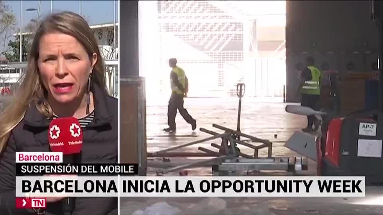 Barcelona programa una batería de iniciativas para llenar el vacío del Mobile