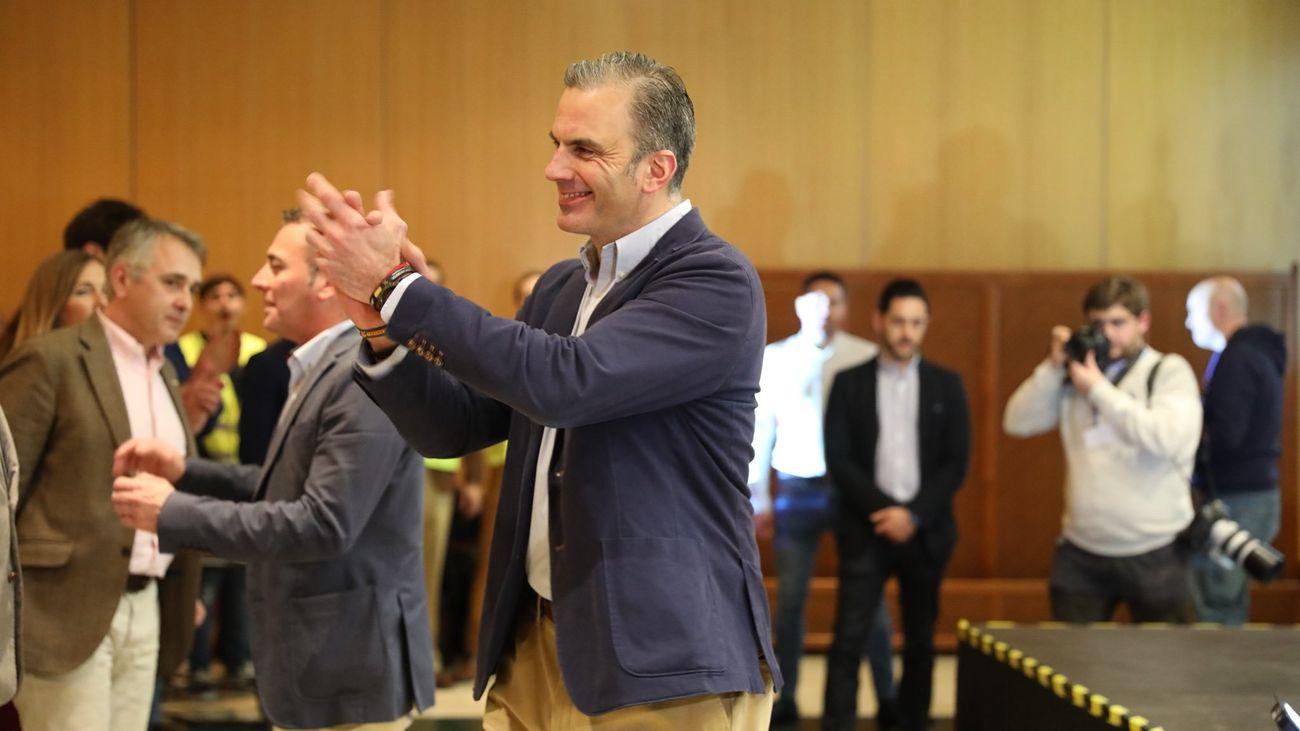 """Ortega Smith: """"Tenemos la llave de Gobierno de la capital de España"""""""