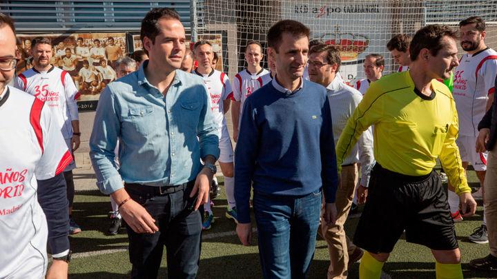 Partido amistoso por el 35 aniversario de Onda Madrid