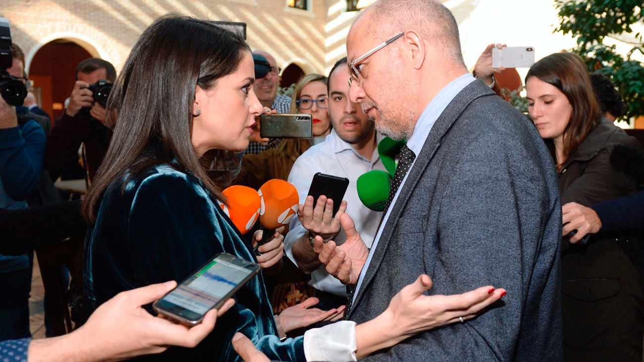Arrimadas reta a Igea a un debate ante la militancia