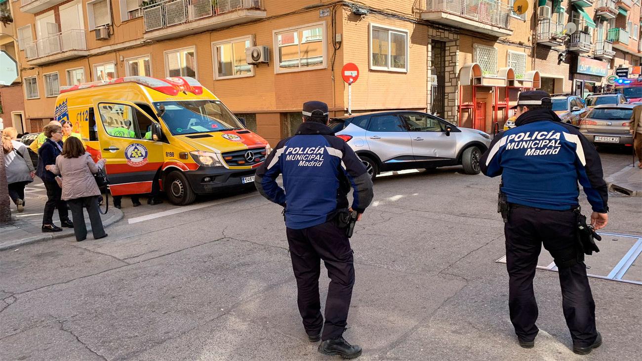 Una mujer grave al ser atropellada en Chamartín