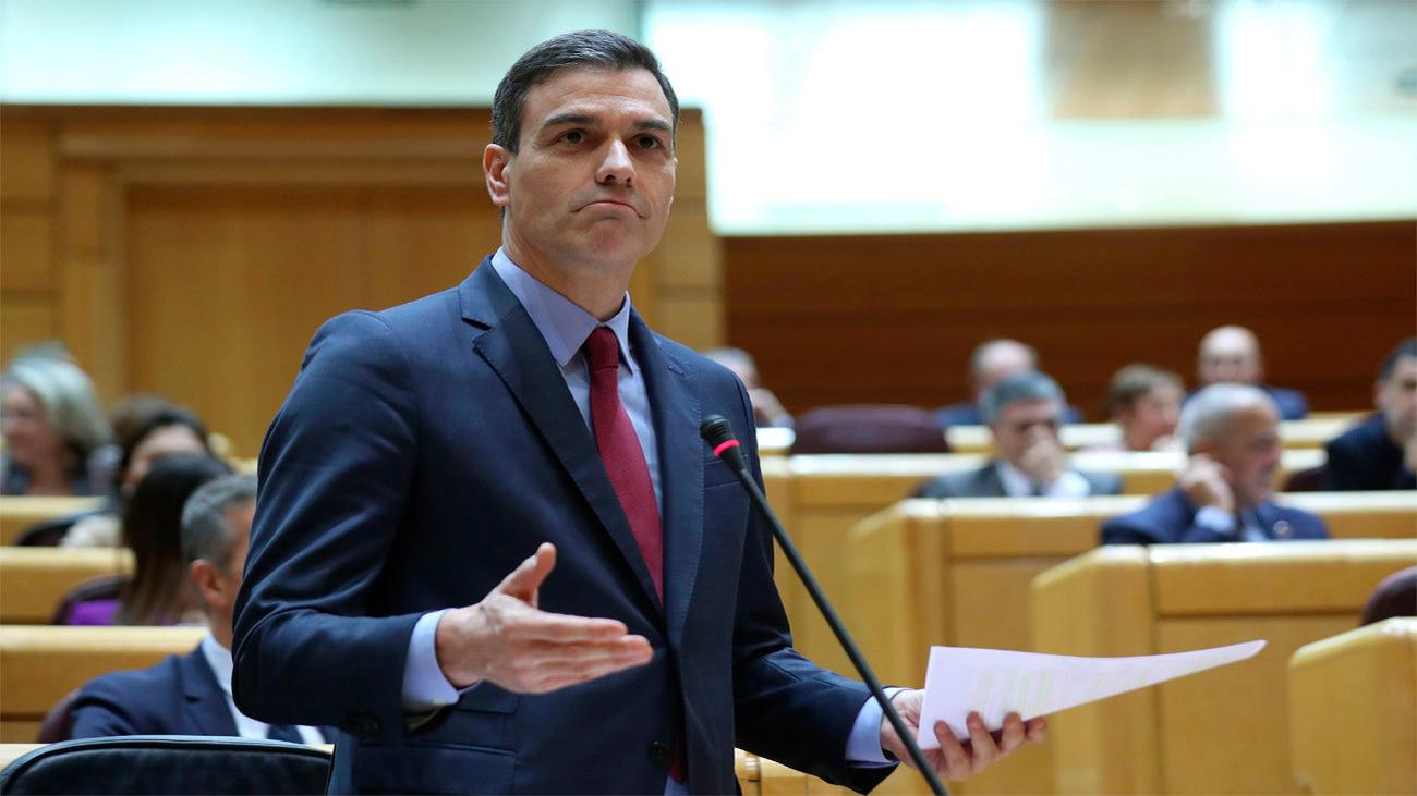 Sánchez defiende a Ábalos y Maroto le acusa de mentir ante el Senado