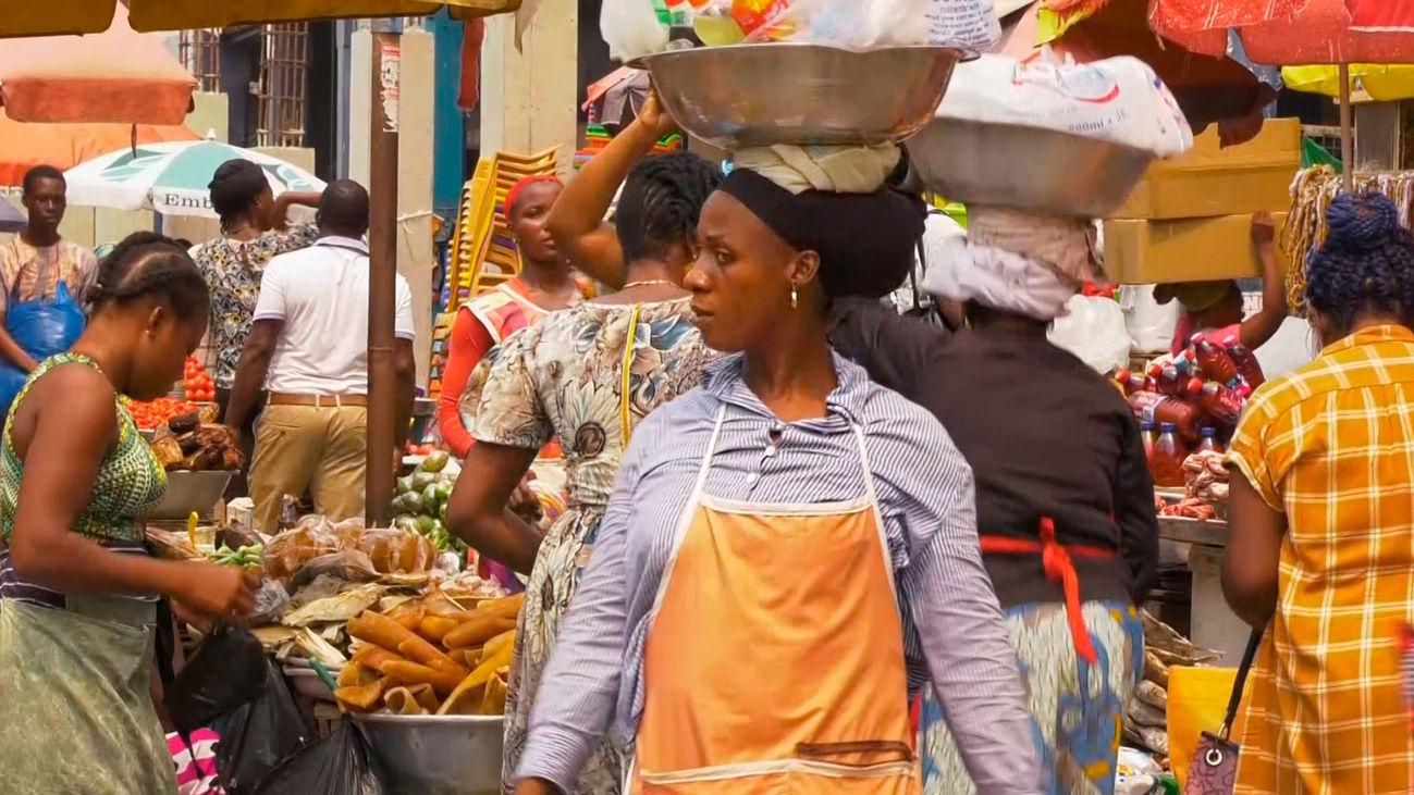 El Mercado de Makola, epicentro comercial de Acra