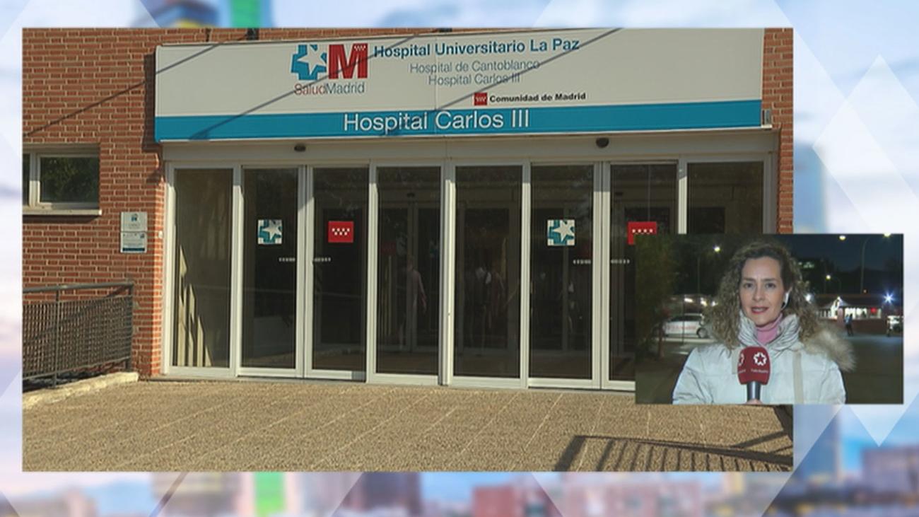 El joven que ha dado positivo en coronavirus ha pasado la noche aislado en el Hospital Carlos III