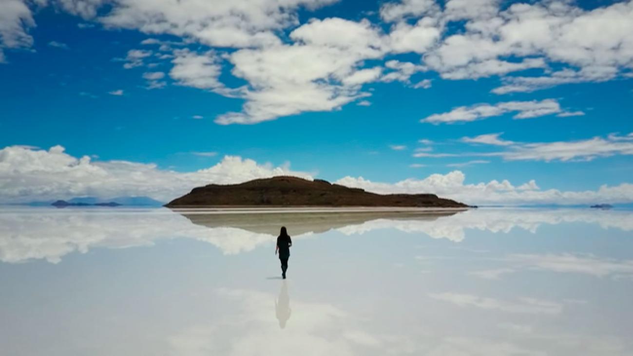 El espejo más grande del mundo