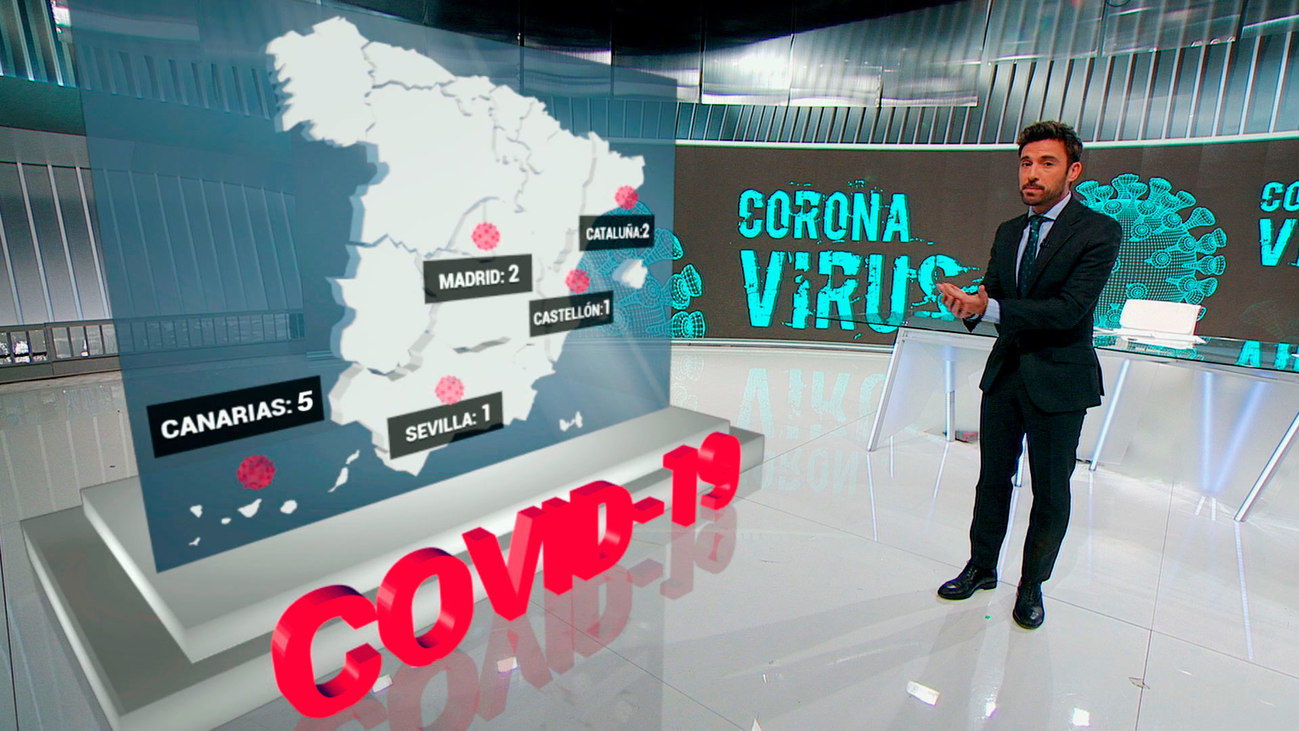 España registra su primer contagio local de coronavirus