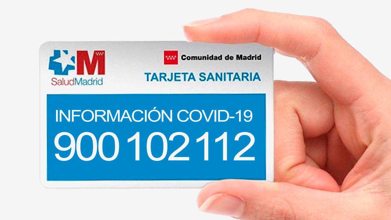 La Comunidad de Madrid habilita un teléfono gratuito para resolver dudas sobre el coronavirus