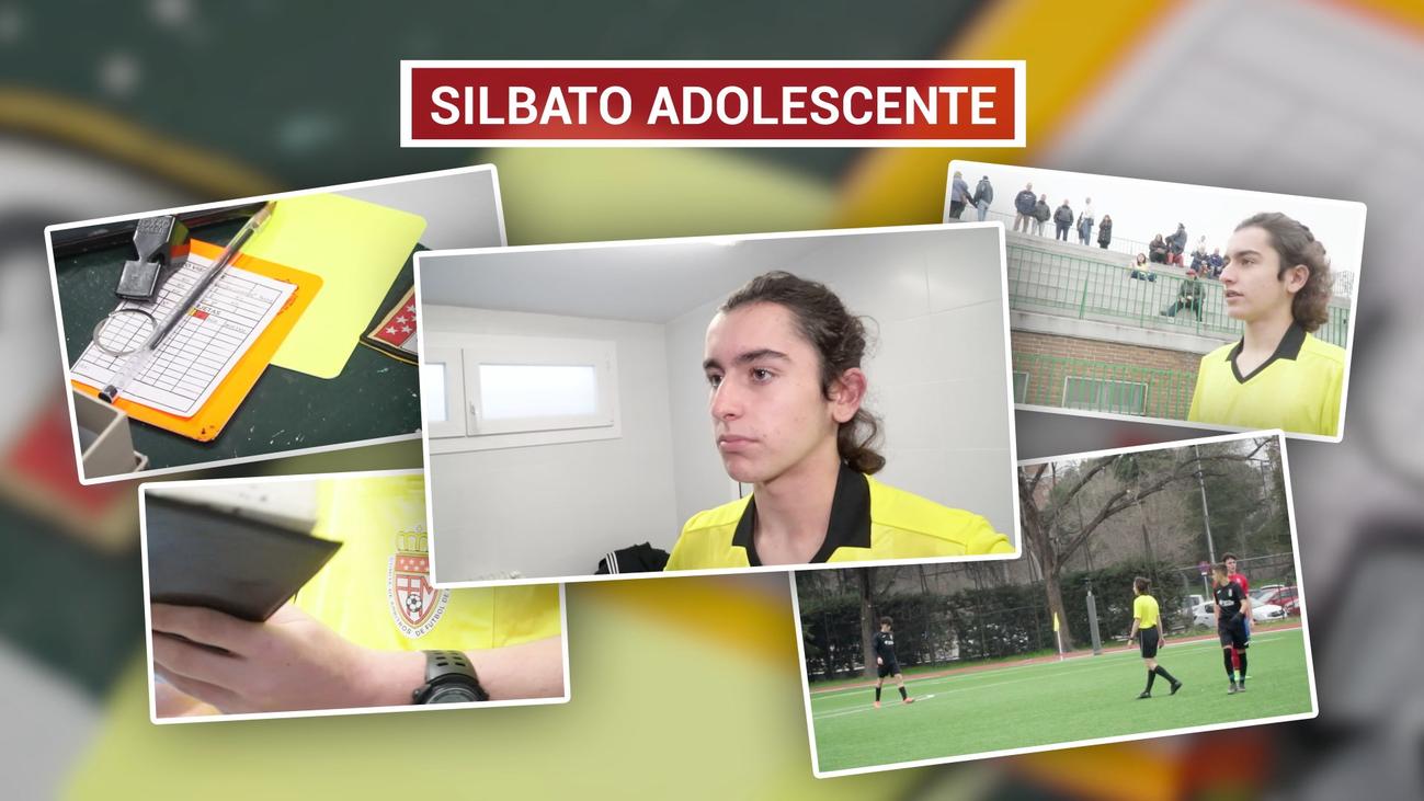 Álvaro, árbitro de fútbol a los 16 años