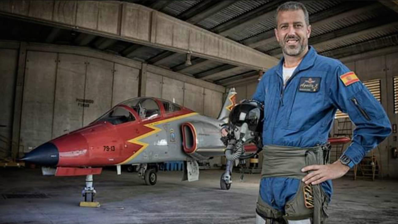 El piloto muerto en La Manga sustituyó en la Patrulla Águila al fallecido en agosto