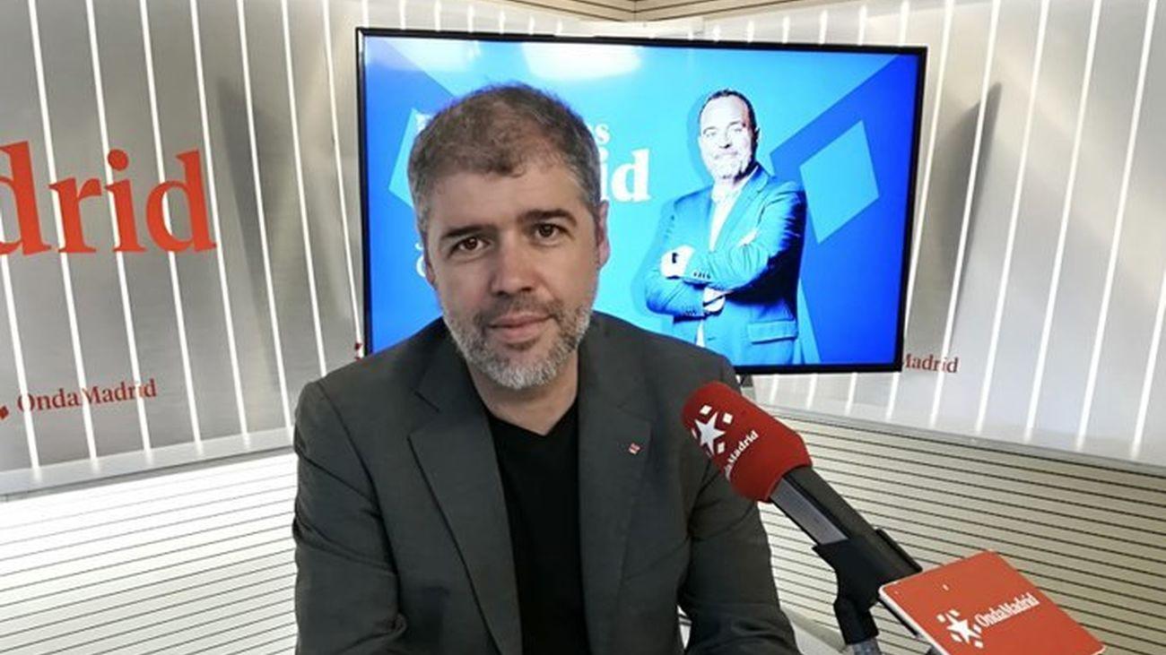 """entrevista  Unai Sordo: """"Madrid no puede seguir haciendo dumping fiscal"""""""