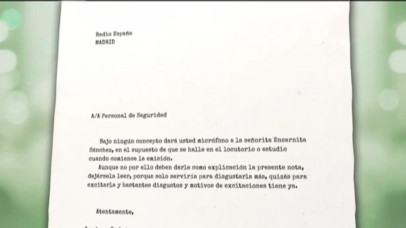 Encarna Sánchez fue despedida tras alcanzar la cumbre de su carrera