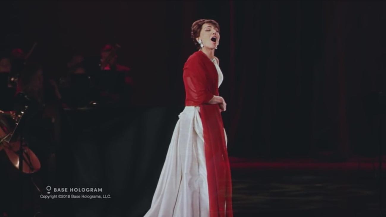 María Callas regresa a los escenarios gracias a la realidad virtual