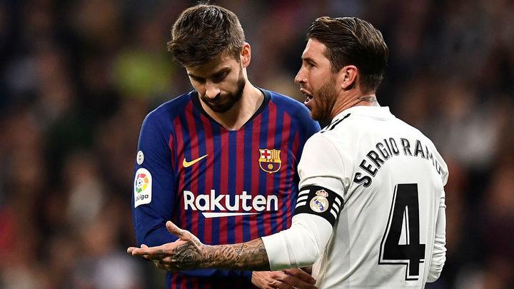 Piqué menosprecia al Real Madrid y Ramos sale al paso