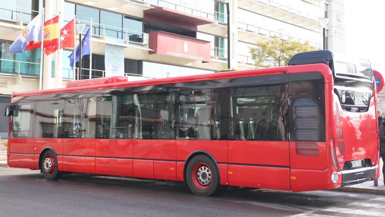 Autobús de Fuenlabrada