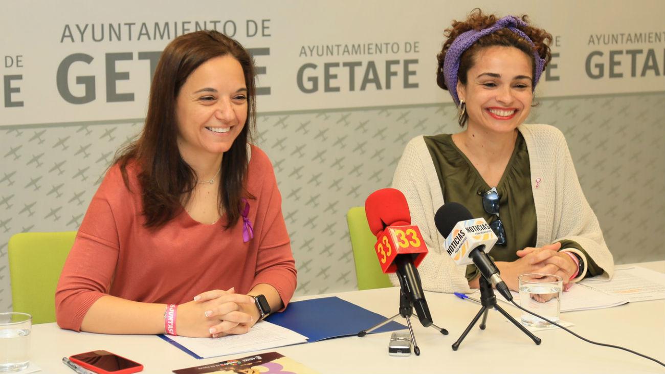 La alcaldesa de Getafe, Sara Hernández, presenta 'Crash por la Igualdad'