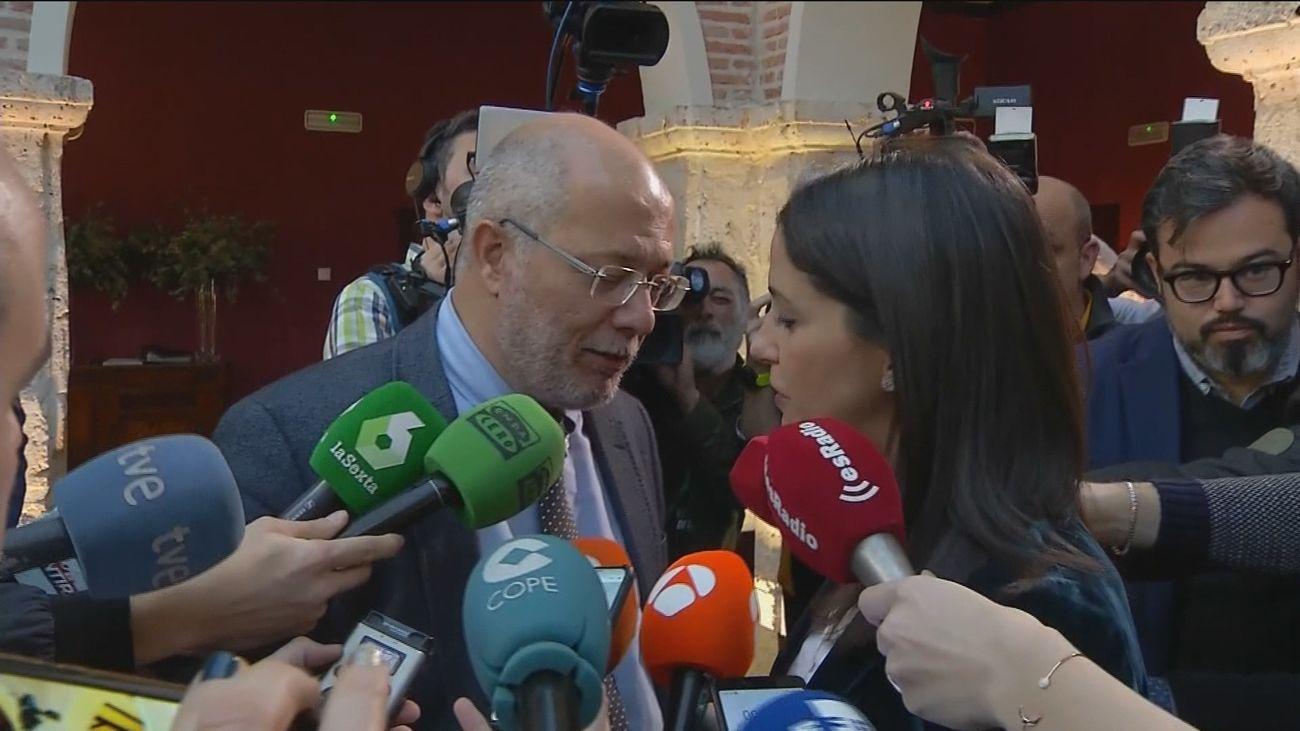 Francisco Igea con Inés Arrimadas