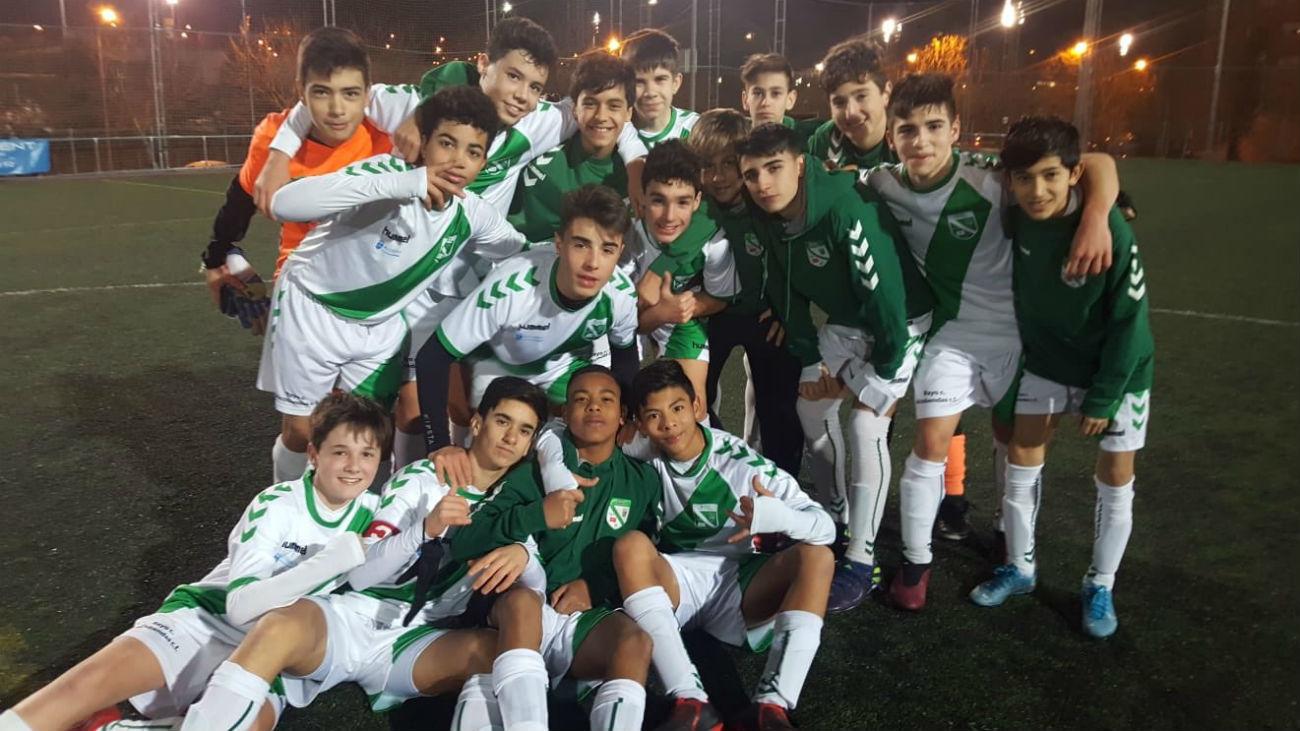 Así es la escuela de fútbol Rayo Ciudad de Alcobendas