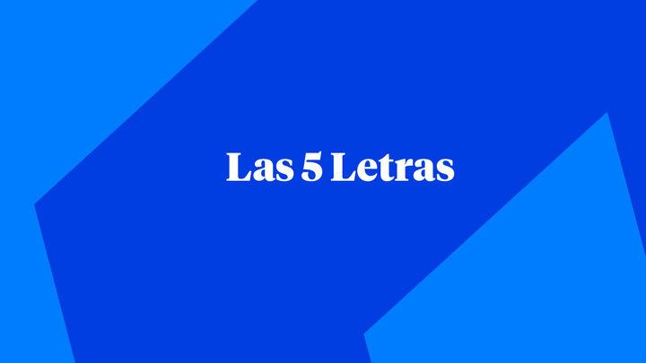 Las Cinco Letras en El Enfoque 04.10.2019