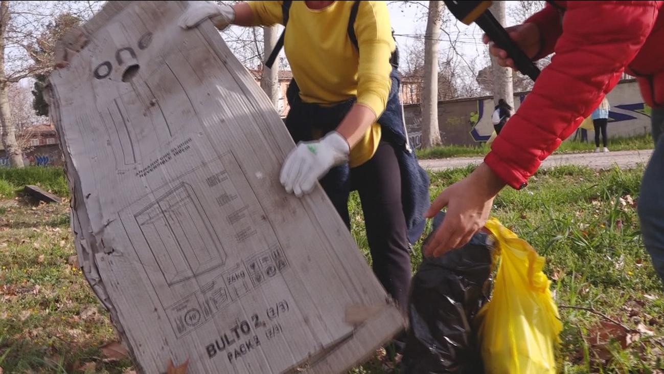 Patrullas voluntarias de limpieza en Aranjuez
