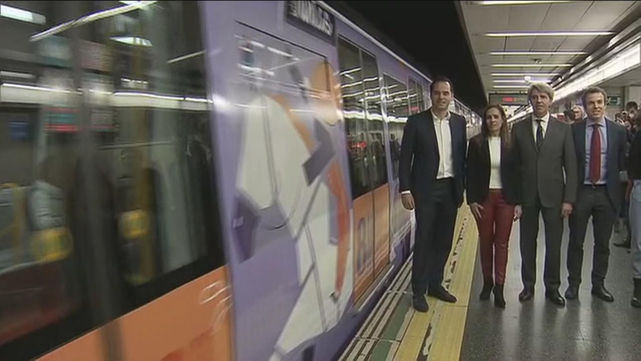 Metro lanza una campaña en la línea 6 con motivo del Día Internacional de la Mujer