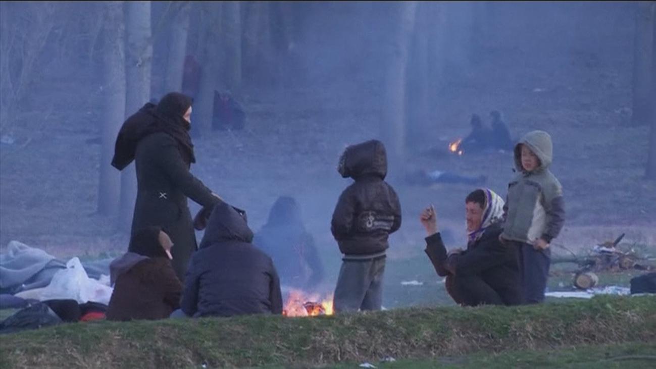 Primeras víctimas de la crisis migratoria de Turquía