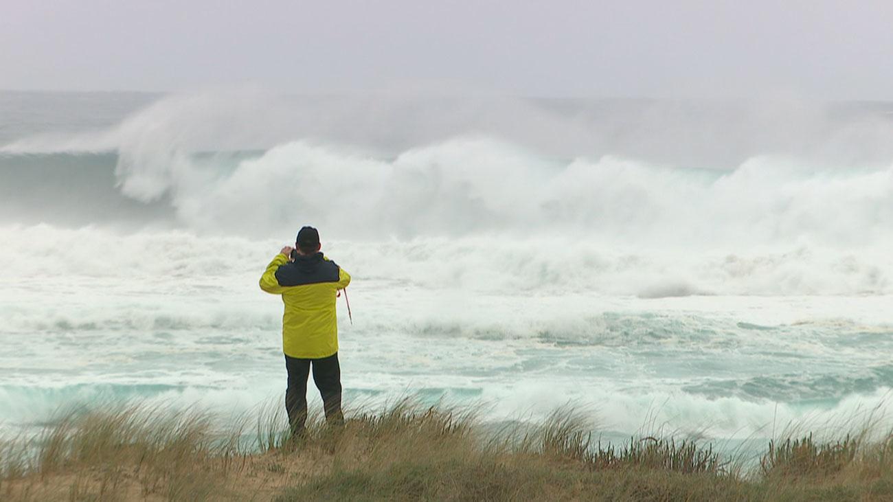 La borrasca 'Karine' trae avisos por viento, lluvias y nieve en toda la Península