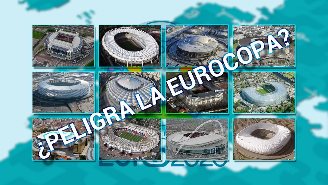 La Eurocopa, en el alambre por la propagación del coronavirus