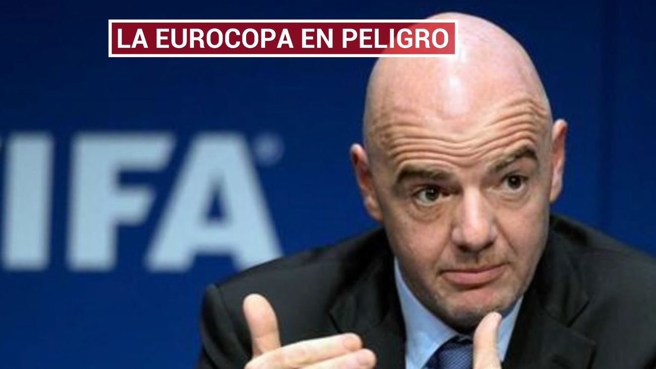 El coronavirus amenaza la Eurocopa