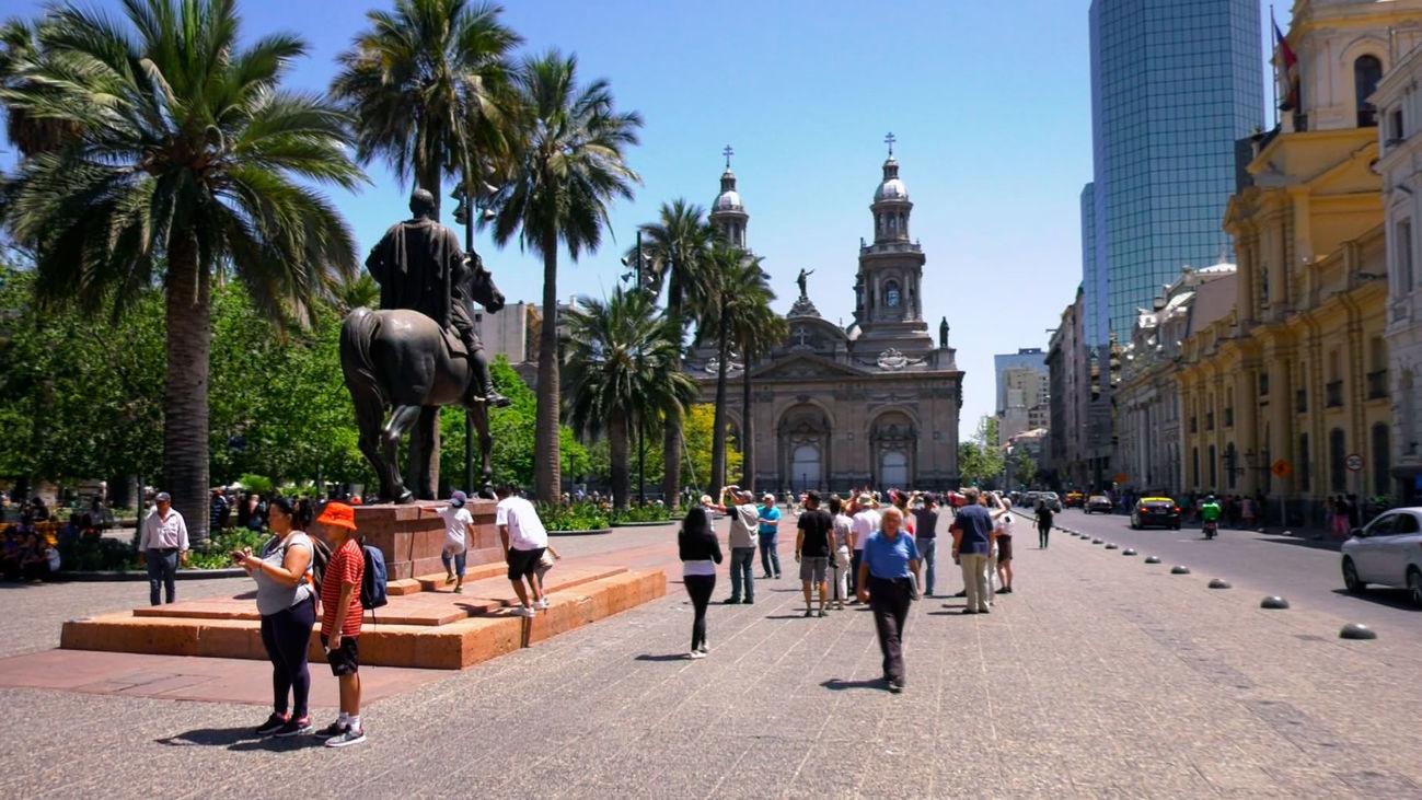 La Plaza de Armas de Santiago de Chile, el corazón de la capital