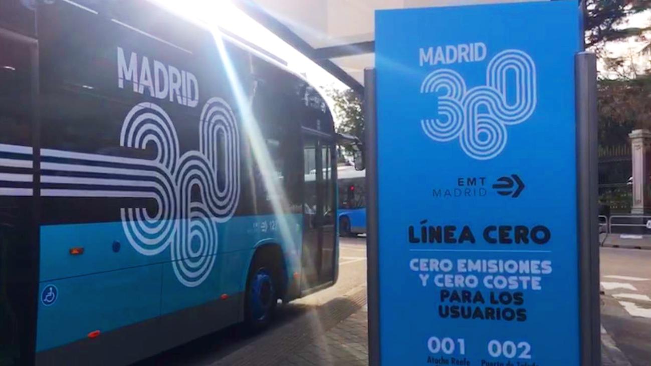 Arranca la segunda línea cero y gratuita de la EMT entre Argüelles y Puerta de Toledo