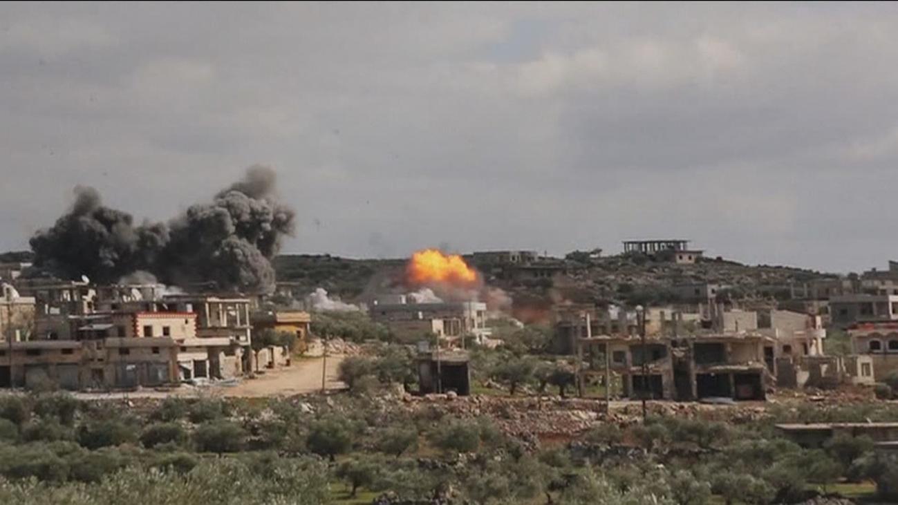 Siria recupera la ciudad clave de Saraqeb