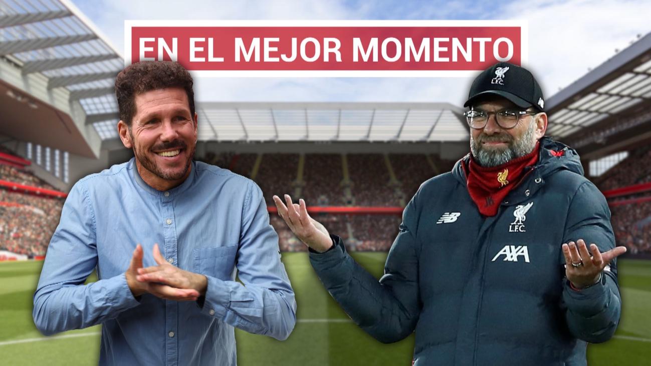 El Liverpool se tambalea antes de recibir al Atlético