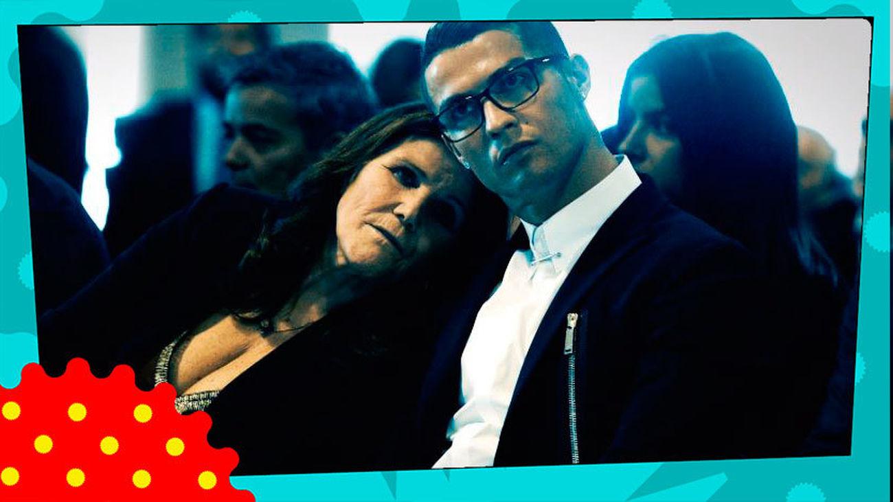 """La madre de Cristiano Ronaldo, """"estable y recuperándose"""", después  de sufrir un ictus"""