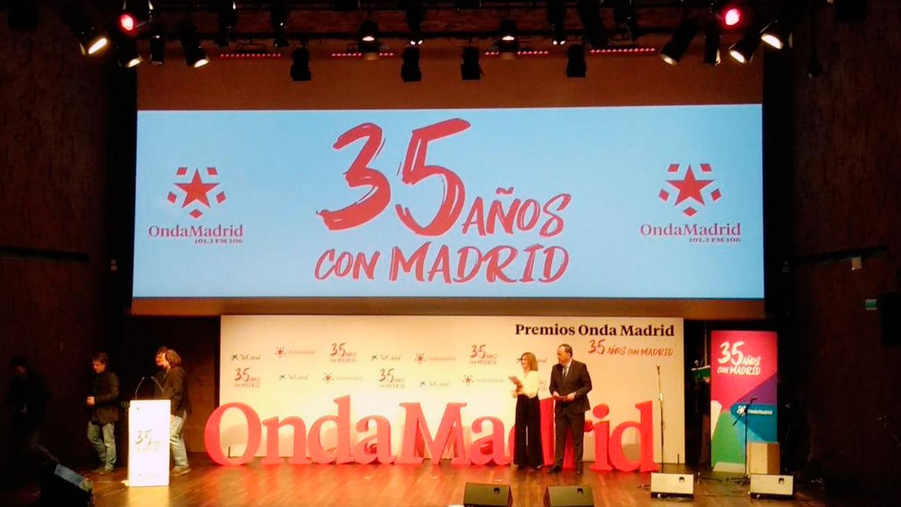 """""""Especial gala de premios - 35 aniversario de Onda Madrid  """" (19:00-21:00)"""