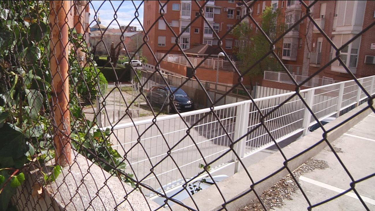El aparcamiento de la discordia, en Carabanchel