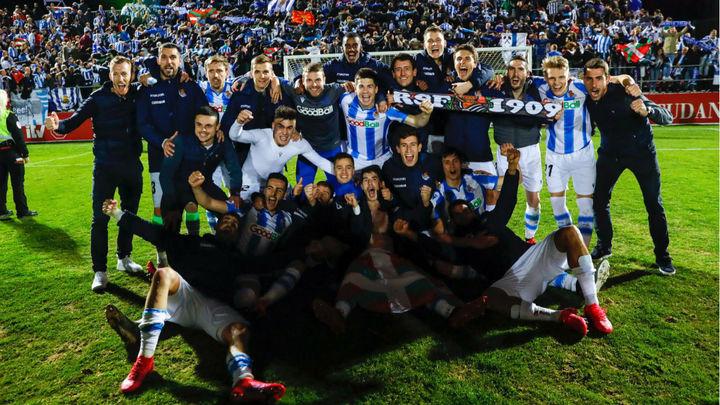 0-1. La Real Sociedad vuelve a una final de Copa 32 años después