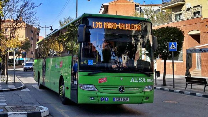 Transportes aumentará la oferta de la línea 313 entre Madrid y Valdilecha