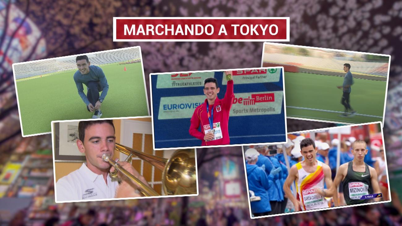 Diego García, a por medalla en marcha en los Juegos Olímpicos