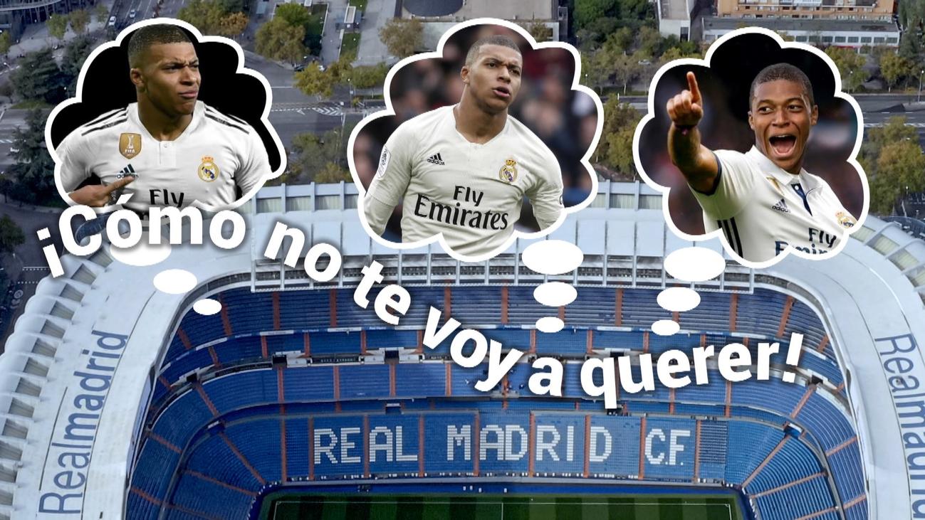 La afición del Real Madrid sueña con Mbappé tras un nuevo show