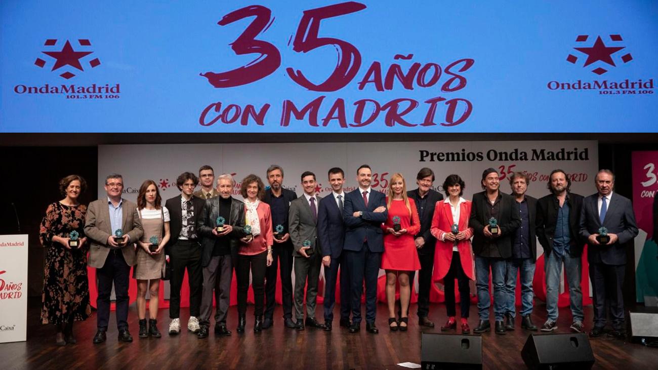 Gala de los Premios Onda Madrid (Video)