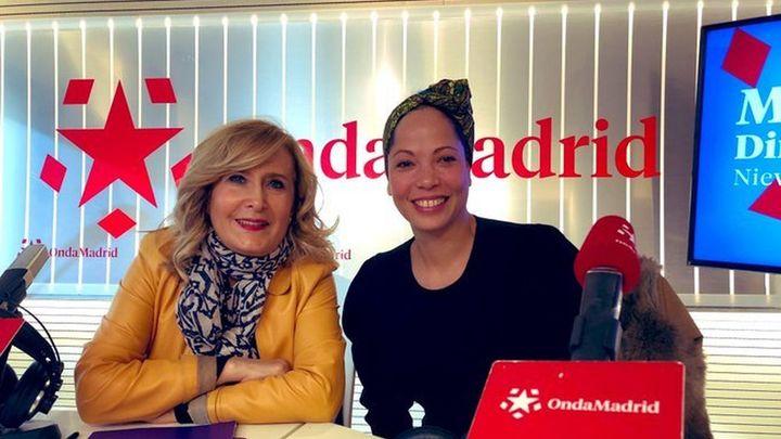 Ela Ruiz, cantante del musical 'Gosht', en Onda Madrid