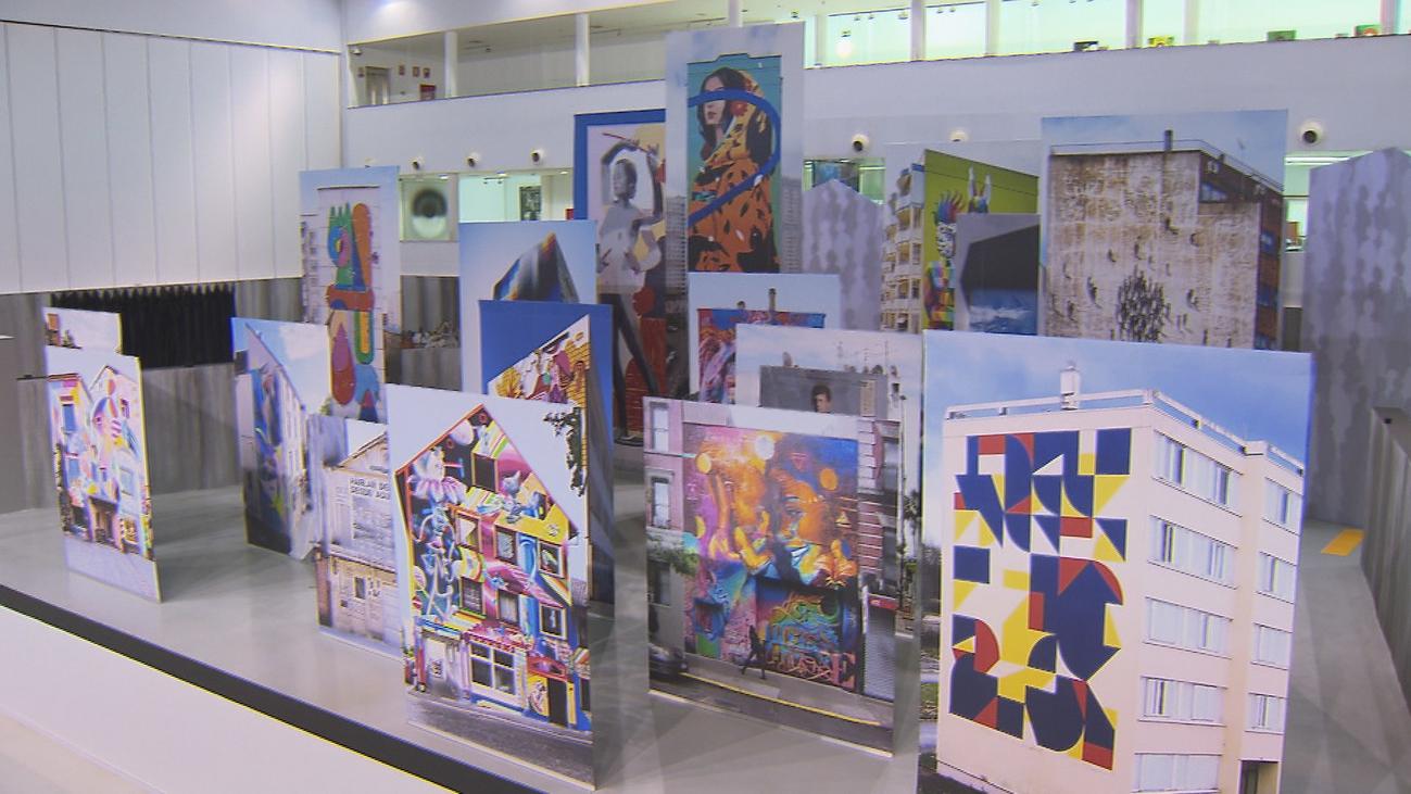 La exposición 'Arte urbano…?' llega a Fuenlabrada