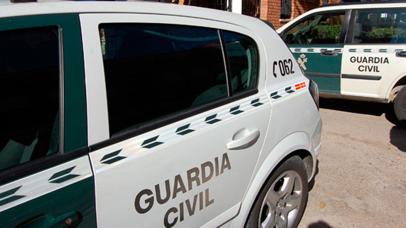 Coches de la Guardia Civil