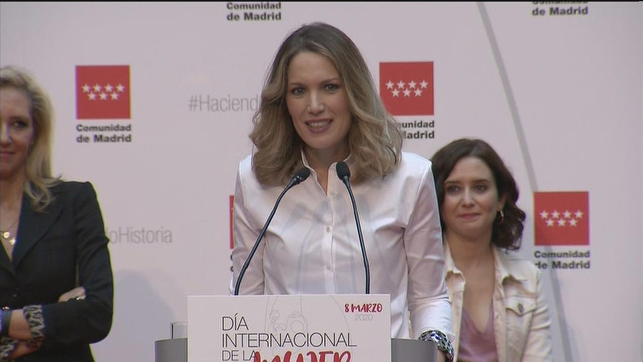 """Silvia Intxaurrondo, premio 'Haciendo Historia' de Madrid: """"Estoy al frente de uno de los mejores equipos"""""""
