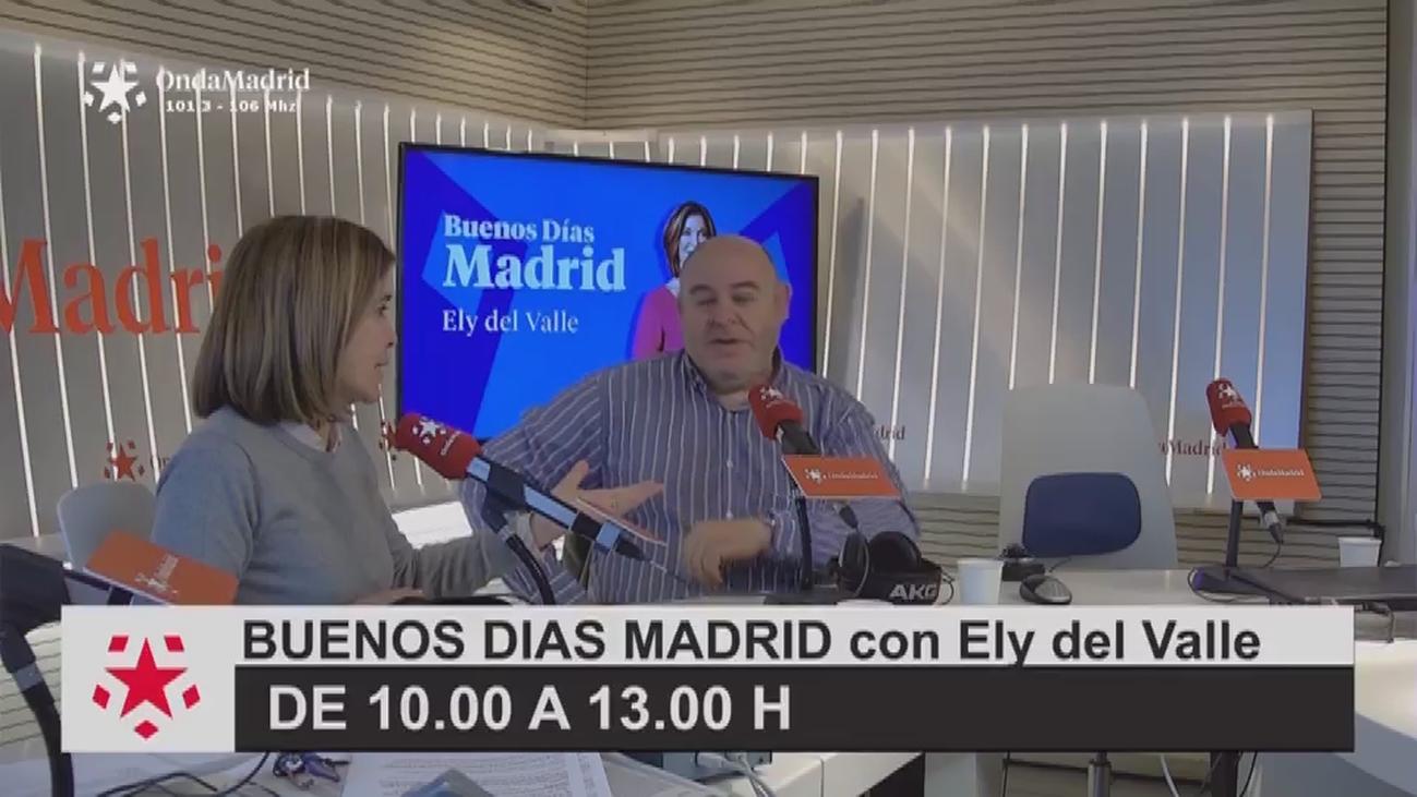 """Andrés Samperio, alcalde de Navalagamella: """"Siendo punki me ponía la cresta con agua y azúcar"""""""